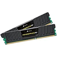 Corsair CML16GX3M2A1600C9 Vengeance Low Profile 16GB (2x8GB) DDR3 1600 Mhz CL 9 XMP Performance Desktop Memory Schwarz