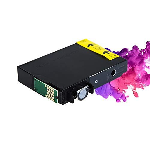 GYBN Druckerpatrone für Epson T0491BK Epson Stylus Photo R210 R230 R310 R350 RX510 RX630 RX650, 6 Farben
