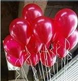 Wicemoon 100PCS Colorful Latex matt Luftballons für Geburtstage Hochzeiten Feiertage und besondere Anlässe Celebration