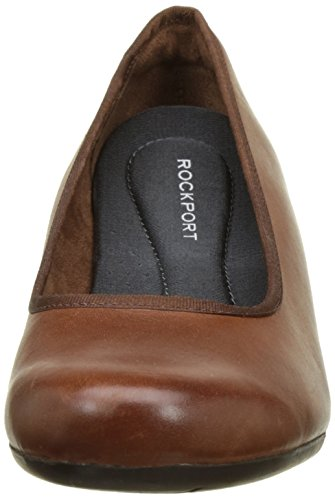 Rockport - Hezra Pump, Scarpe col tacco Donna Marron (Almond Leather)