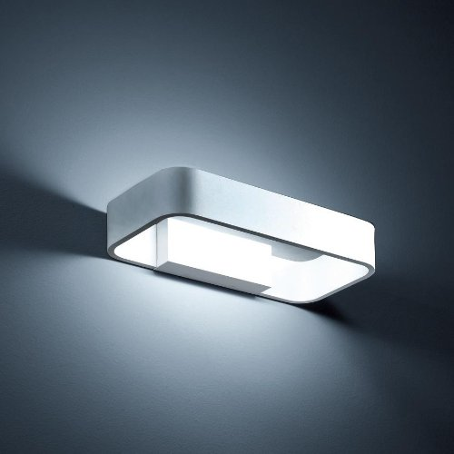 Helestra LED Wandleuchte Rail Silbergrau | LEDs fest verbaut 4W 540lm warmweiß | A18251.46
