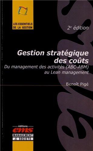 Gestion stratégique des coûts