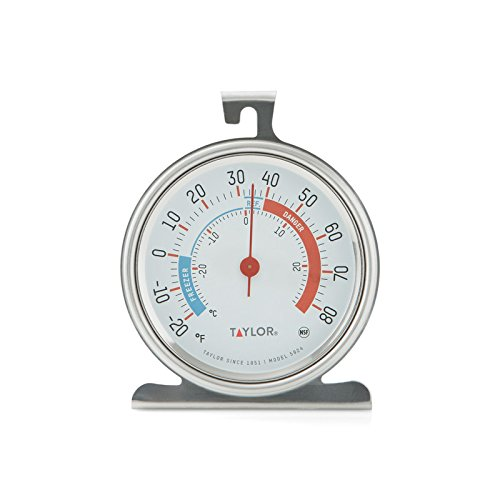 Taylor Classic Series Freezer/Refrigerator Thermometer Large 3.25