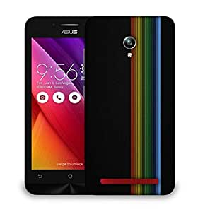 Snoogg Simple Lines Vector Designer Protective Phone Back Case Cover For Asus Zenfone GO