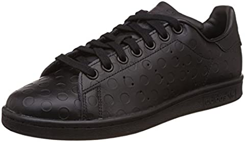 adidas Stan Smith, Baskets Basses Femme, Noir (Core Black/Core Black/Utility