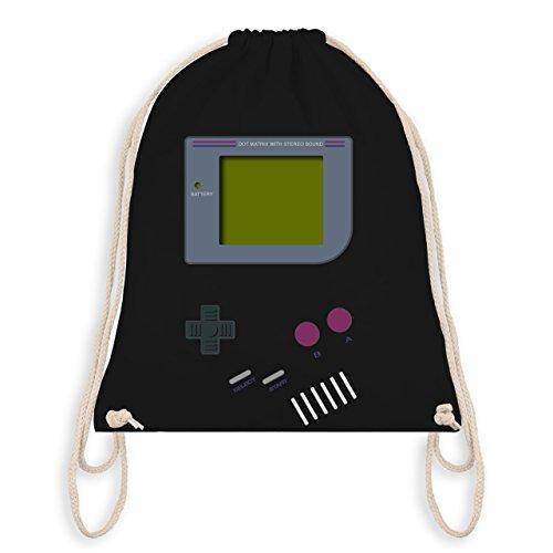 Shirtracer Nerds & Geeks - Gameboy - Unisize - Schwarz - WM110 - Turnbeutel I Gym Bag