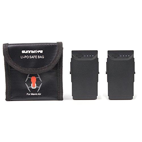 PENIVO Tragbare Drohne LiPo explosionsgeschützte sichere Tasche, Batterie schützende Aufbewahrungstasche für DJI Mavic Air batterien case Zubehör (Mittel) (Case-air Filter)