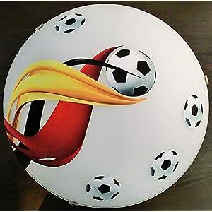 Deckenleuchte/Wandlampe * Fußball 2 * auch LED – mit/ohne Name