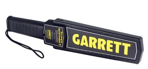 Garrett Super Scanner V Handdetektor digital (LED), akustisch 1165190 Garrett Scanner