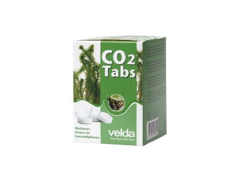 4000 Pool (Velda 122475 Kohlendioxid-Tabletten, Wachstumsförderer für Sauerstoffpflanzen, Für 4000 l Teichwasser, CO2 Tabs)