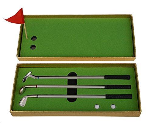 SaySure - Mini Golf Clubs Models Ball Pen Golf Balls Flag Set
