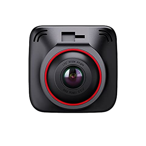 BC Master DC10 Autokamera 1080P 170° Dashcam, 3-Port Smart IC Car Charger, GPS Modul, Parkmonitor, G-Sensor, Loop Aufnahme, Super Night Vision, 2.0