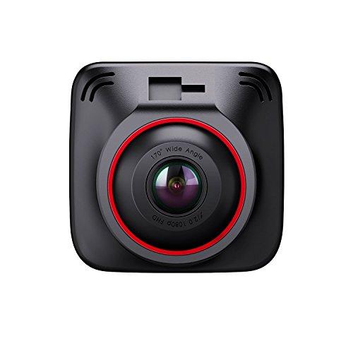 BC Master Dash cam Caméra Voiture 1080P 170°, 3 Ports Chargeur Voiture Smart IC, Récepteur GPS, Bouclier, G-Sensor, Enregistrement en boucle, Vision Nocturne, 2.0 Pouces Enregistreur de Caméra à Grand Angle LCD