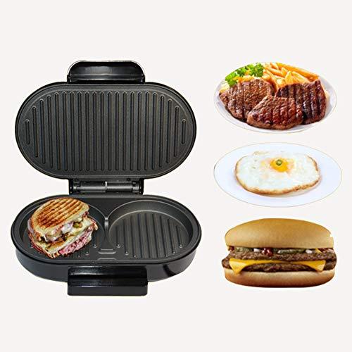HZYYZH Mini-Fleischmaschine für zu Hause, Frühstücksherstellung, Hamburger, Panini Panini Panini Panini