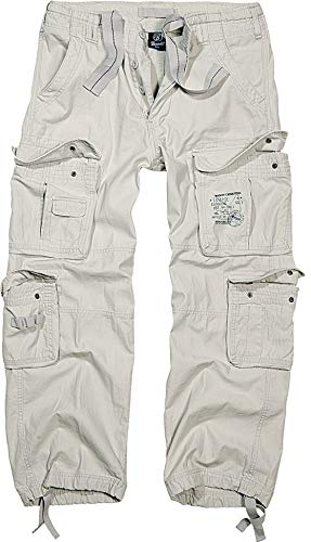 Brandit Cargohose Pure Old White 3XL
