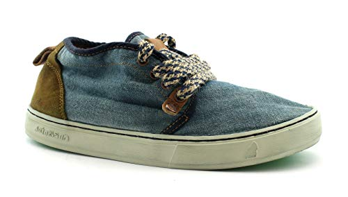 best sneakers 65bb2 09554 Satorisan 171010 Yasuragi Blue Jeans Shoes Men high Laces 41