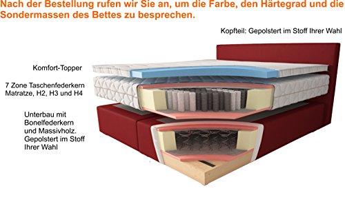 Boxspringbett Helena mit Topper Lieferung & Aufbau Bild 2*