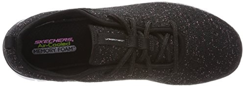 Skechers Skech Appeal 2.0-Bold Move, Sneaker Bambina Nero (Black/rose Gold)