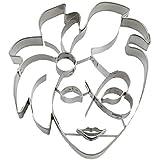 Städter 163461 Tagliabiscotto Maschera Carnevale- 10cm