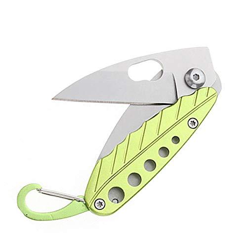 Laytugibla Blattklappmesser mit im Freienklappmesser tragbares Fruchtmesser-Schlüsselmesser der...
