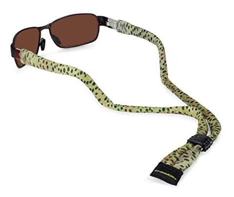 Croakies Suiters Eyewear Retainer, AD Maddox, Cutthroat Fishskin