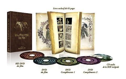 Le Labyrinthe De Pan - Edition Ultime THX 5 Discs (3 DVD + 1 HD DVD + 1 CD de la BOF Livre 64p. + étui) [Édition