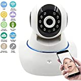 Bigsavings Smart Wireless HD IP Wifi CCTV Camera for Remote Monitoring from Android and iOS Smartphone