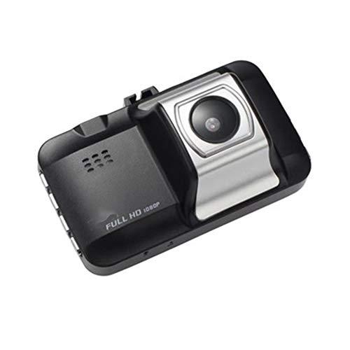 TIANZZ FHD 1080P-Auflösung und 3,0-Zoll-Bildschirm: Mit Full HD 1920X1080P können Sie alle Straßenzustände und Kennzeichendetails erfassen,Black