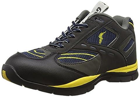 Goodyear G138304, Unisex Erwachsene Sicherheitsschuhe, Grau, 43 EU (9 UK) (Resistant Steel Toe Schuhe)