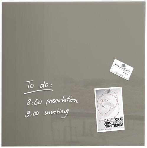 sigel-gl118-lavagna-magnetica-di-vetro-bacheca-di-vetro-artverum-talpa-48-x-48-cm