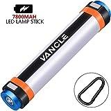 Vancle Camping Lampe, Camping Lichter USB Wiederaufladbare Power Bank Tragbare Hängende Magnetische Camp Licht für Das Wandern, SOS-Notfall und Mückenschutz mit Vielen Funktionen (7800mAh)