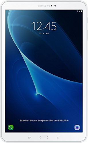 Samsung Galaxy Tab A T585 25,54 cm (10,1 Zoll) Tablet-PC (1,6 GHz Octa-Core, 2GB RAM, 32GB eMMC, LTE, Android 7.0) weiß