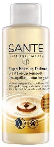 SANTE Naturkosmetik Augen Make-up Entferner, Mit milden Tensiden & Bio-Ölen, Vegan, reinigt sanft & schonend, entfernt wasserfestes Make-up, 100ml -