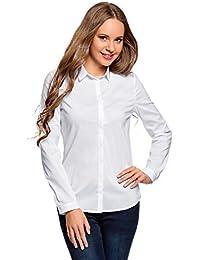 newest 1c80f 7dbc2 Amazon.it: camicia bianca donna cotone - Donna: Abbigliamento