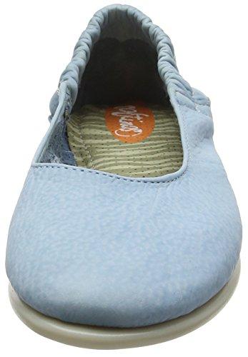 Softinos Vis275sof, Ballerine Donna Turquoise (Pastel Blue)