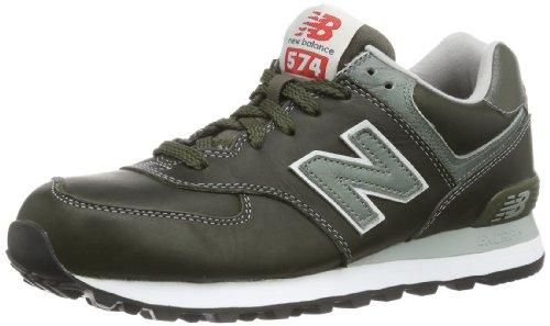 New Balance ML574 D (13H) 313791-60 Herren Sneaker Grün (LLG OLIVE)