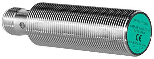 Pepperl + Fuchs Induktiver Sensor - Induktive Näherungsschalter NXB8-18GM50-E2-V1 8 mm PNP Schließer (NO) 3-Draht DC - 10-30 V 100 mA -