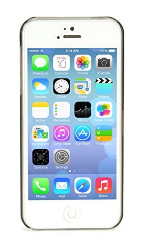 Tucano Sottile Case fuchsia für Apple iPhone 5/5S Schwarz