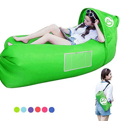Tz divano ad aria, gonfiabile, impermeabile, portatile, gonfiabile, divano/letto/campeggio, spiaggia e giardino, per campeggio, campeggio, escursionismo, piscina e spiaggia