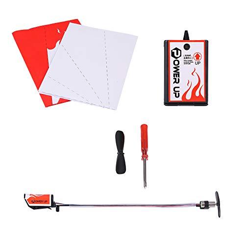 Aereo di carta dai da te kit modello di conversione per aereo elettrico per bambini