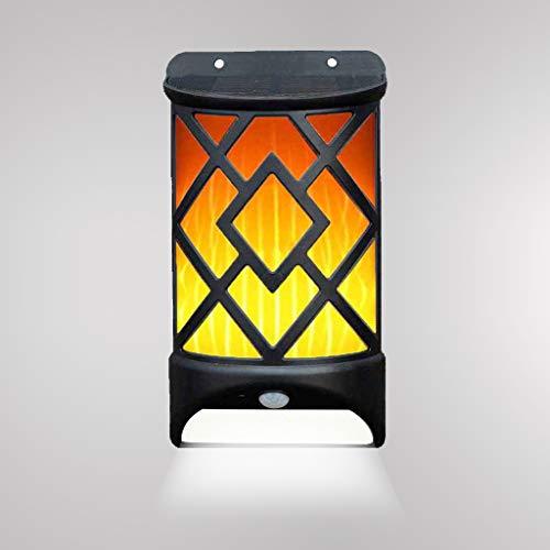 YAYZA! 2-Paquete 2 1 Panel solar LED Lámpara pared