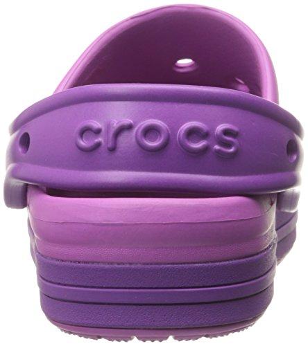 Crocs Crocs Bump it Clog, Sabots - Mixte enfant Blanc (Wild Orchid/Amethyst)