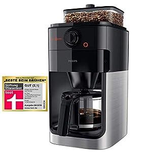 Philips HD7767/00 Grind und Brew Filter Kaffeemaschine, Kunststoff,...