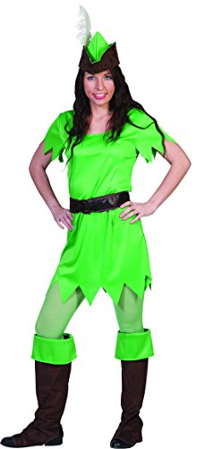 Luxuspiraten - Peter-Pan Kostüm für Frauen, S, Grün