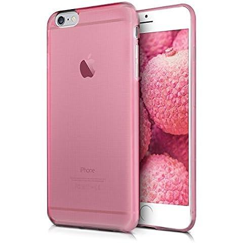 kwmobile Elegante funda ultrafina para Apple iPhone 6 Plus / 6S Plus en rosa fucsia transparente - Mejora el diseño de su Apple iPhone 6 Plus / 6S