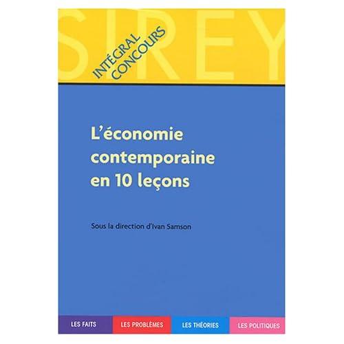 L'économie contemporaine en dix leçons