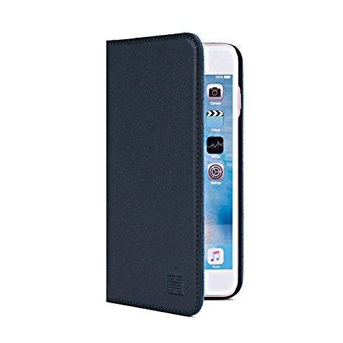 32nd Portafoglio Disegno Classic Custodia Premium Pelle per Apple iPhone 6 Plus / 6S Plus, Flip Case con Chiusura Magnetica e Funzione Stand - Grigio Elefante Portafoglio Classico - Verde cacciatore