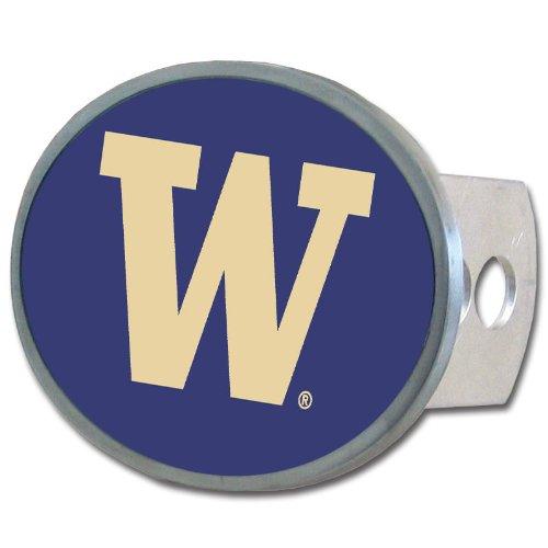 Siskiyou NCAA Washington Huskies Oval Hitch Cover