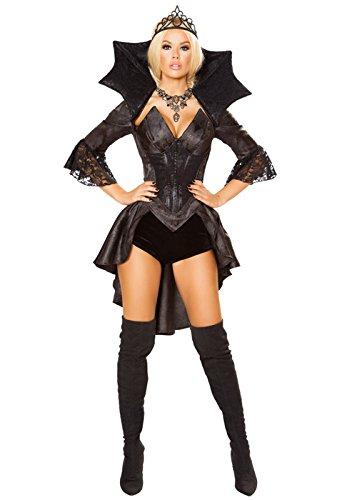Of Kostüm Queen Darkness - Magic Box Int. Deluxe Gothic Queen of Darkness Kostüm für Damen Medium (UK 10-12)