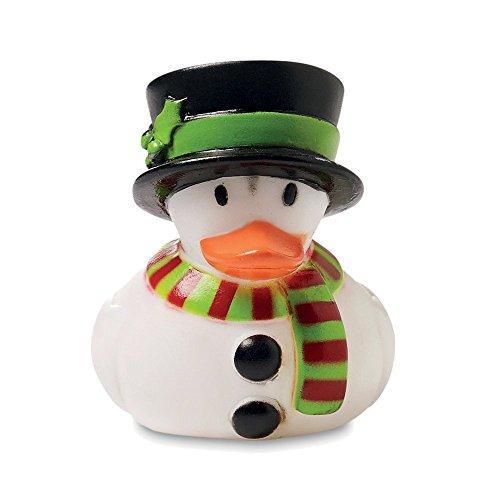 Weihnachts Plastik Gummi Ente - Schwimme Badezeit Spielzeug Für Kinder - Enten Rennen - Schneemann